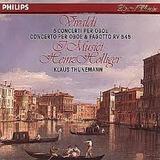 Cd Vivaldi Holliger   5 Concerti Per Oboe Usado