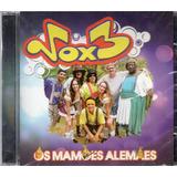 Cd Vox 3 Os Mamões Alemães Original Lacrado