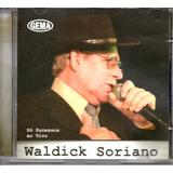 Cd Waldick Soriano   Só Sucessos Ao Vivo