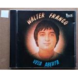 Cd Walter Franco   Vela Aberta  me Deixe Mudo caixa Acrílica
