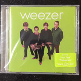 Cd Weezer Green Album Lacrado Importado Novo