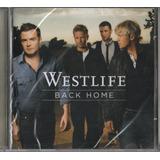 Cd Westlife Back Home 2007 Lacrado