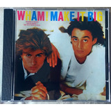 Cd Wham Make It Big Frete Grátis George Michael