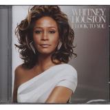 Cd Whitney Houston   I Look To You