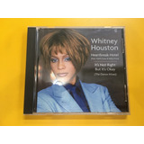 Cd Whitney Houston Heartbreak Hotel Its Not Right Usa