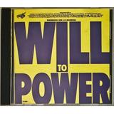 Cd Will To Power 1988 Importado Usa   B5