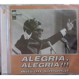 Cd Wilson Simonal   Alegria Alegria   Vol 1 E 2 No Mesmo Cd