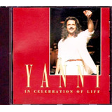 Cd Yanni Celebration Of Life Santorini Sand Dace Música Paz