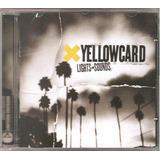Cd Yellowcard   Lights And Sounds  2006  Punk Rock   Novo
