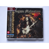 Cd Yngwie Malmsteen World On Fire Importado Shm cd Japão