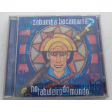 Cd Zabumba Bacamarte No Tabuleiro Do Mundo  cd novo