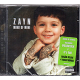 Cd Zayn Mind Of Mine Deluxe Edition Original  Lacrado