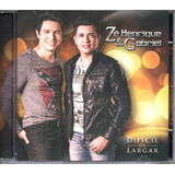 Cd Zé Henrique E Gabriel   Dificil De Largar