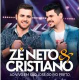 Cd Zé Neto E Cristiano Ao Vivo Em São Jose Do Rio Preto