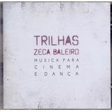Cd Zeca Baleiro   Trilhas   Musica Para Cinema E Dança   Mpb