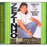 Cd Zezinho Barros   Seresta Vol1 Seresta Baile Show