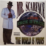 Cd mr  Scarface the World Is Yours lacrado De Fabrica