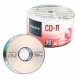 Cd r Sony 700mb  1x 48x Pack Com 100 Unidades Logo Original