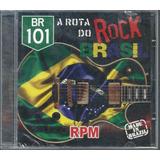 Cd rpm Paulo Ricardo br 101 Rota Do Rock Brasil