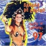 Cd sambas De Enredo grupo A carnaval 97 viviane Araujo