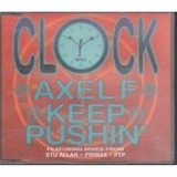 Cd single clock axel F importado Em Otimo Estado