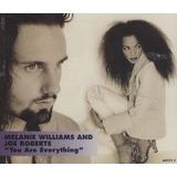 Cd single melanie Williams And Joe Roberts you Are Everythin