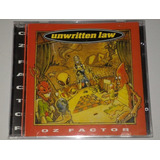 Cd unwritten Law oz Factor em Otimo Estado