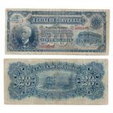 Cd6687   R170   20 Mil Réis De 1907   Letra A