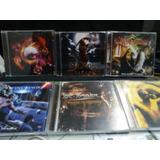 Cds Metal Melódico 6 Cds 4 Novos Bandas Nacionais Perfeitos