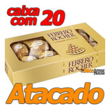 Chocolate Ferrero Rocher Atacado Caixa Com 20 Un De 100gr Cd