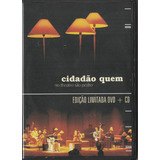 Cidadão Quem   Cd E Dvd No Theatro São Pedro 1ª Ed Original