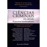 Ciências Criminais Em Debate   Perspectivas Interdisciplina