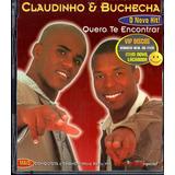Claudinho E Buchecha Cd Single Quero Te Encontrar   Lacrado