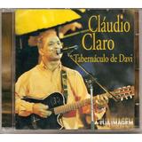 Claudio Claro Tabernaculo De Davi   A Tua Imagem   Cd   Mk