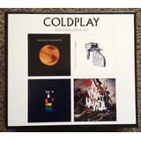 Coldplay Box 4 Cds Lacrado