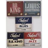 Coleção 27 Cds Blues E Jazz Novos Ray Charles E Outros