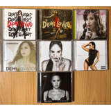 Coleção 7 Cds Demi Lovato   Don t Forget Deluxe Cd   Dvd