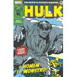 Coleção Clássica Marvel Vol. 5 - Hulk Nº 1 ( Panini - 2021 )