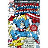 Coleção Clássica Marvel Vol. 7 - Capitão América Nº 1 ( 2021
