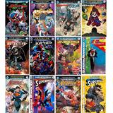 Coleção Revista Hq Marvel Dc Liga Spider Deadpool (33 Capas)