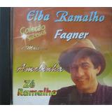Coleção Sucessos Cd Elba Ramalho Fagner Amelinha Zé Ramalho