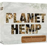 Coletanea Planet Hemp Box Com 5 Cds Original E Lacrado
