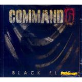Command6 2012 Black Flag Cd Com Letras Com Faixa Bônus