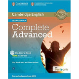 Complete Advanced Sb With Answers And Cd rom With Testbank