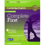 Complete First   Workbook With Answers   With Audio Cd  seco