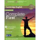 Complete First Sb With Answer With Cd rom   2nd Ed