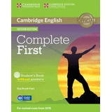 Complete First Sb Without Answers With Cd rom   2nd Ed