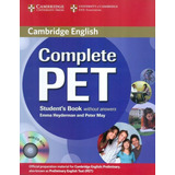 Complete Pet Sb Without Answer With Cd rom