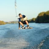 Corda Cabo + Manete Nautika 22m P/ Wakeboard Ski Surf Tow In