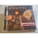 Creed Weathered Cd Lacrado Fabrica Importado Made In U s a